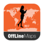 New London Offline Map